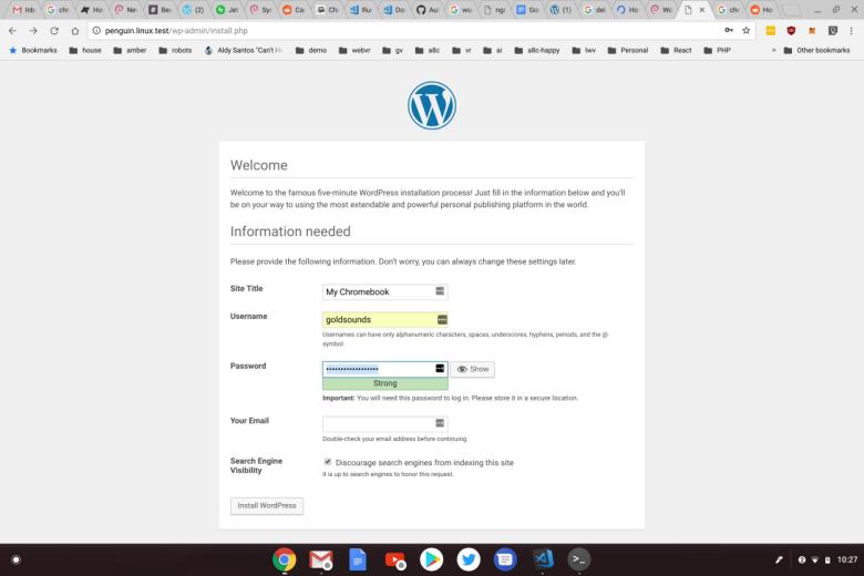 Developing WordPress, Jetpack, and Calypso on ChromeOS | Developer